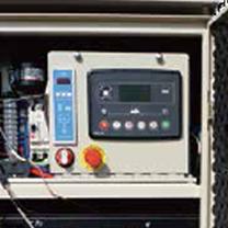 インバータ搭載による高品質電力の供給のイメージ