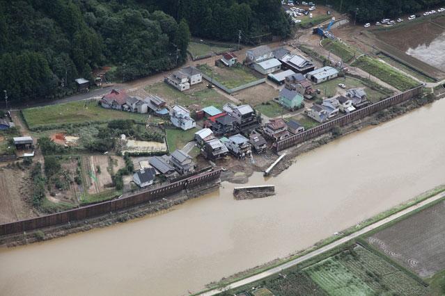 水害対策向けのイメージ