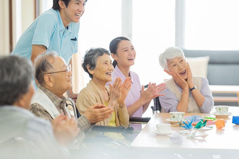 高齢者施設向けのイメージ